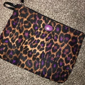 Authentic COACH make up bag